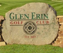Glen Erin marker stone