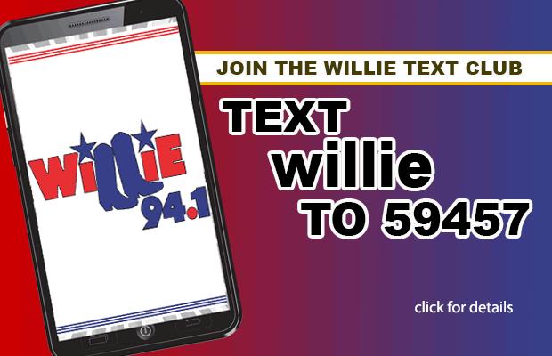 Willie 94.1 Text Club