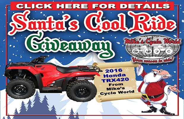 Santa's Cool Ride Giveaway