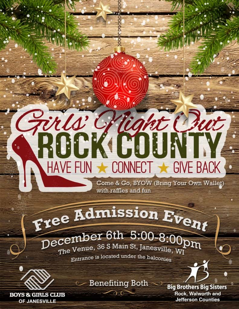 Girls' Night Out Christmas Flyer