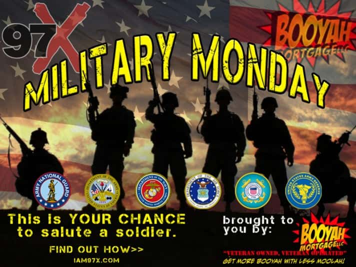 Military Monday- 97x web banner
