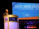 Dr. McAlinden speaks during a seminar for the Center for Automotive Research. Photo by Bob Benko.