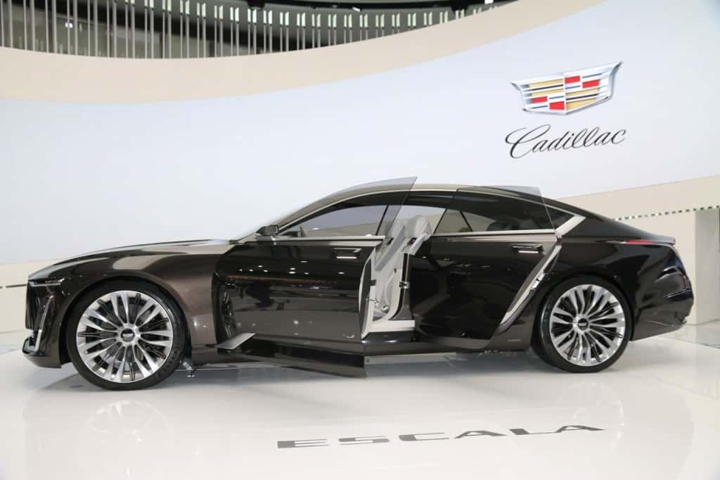 Cadillac concept vehicle--the Cadillac Escala