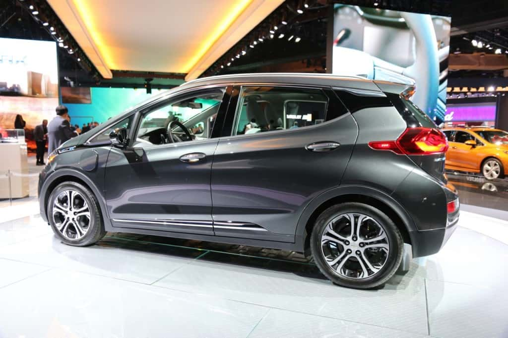 The Chevy Bolt, 2017 car of the year