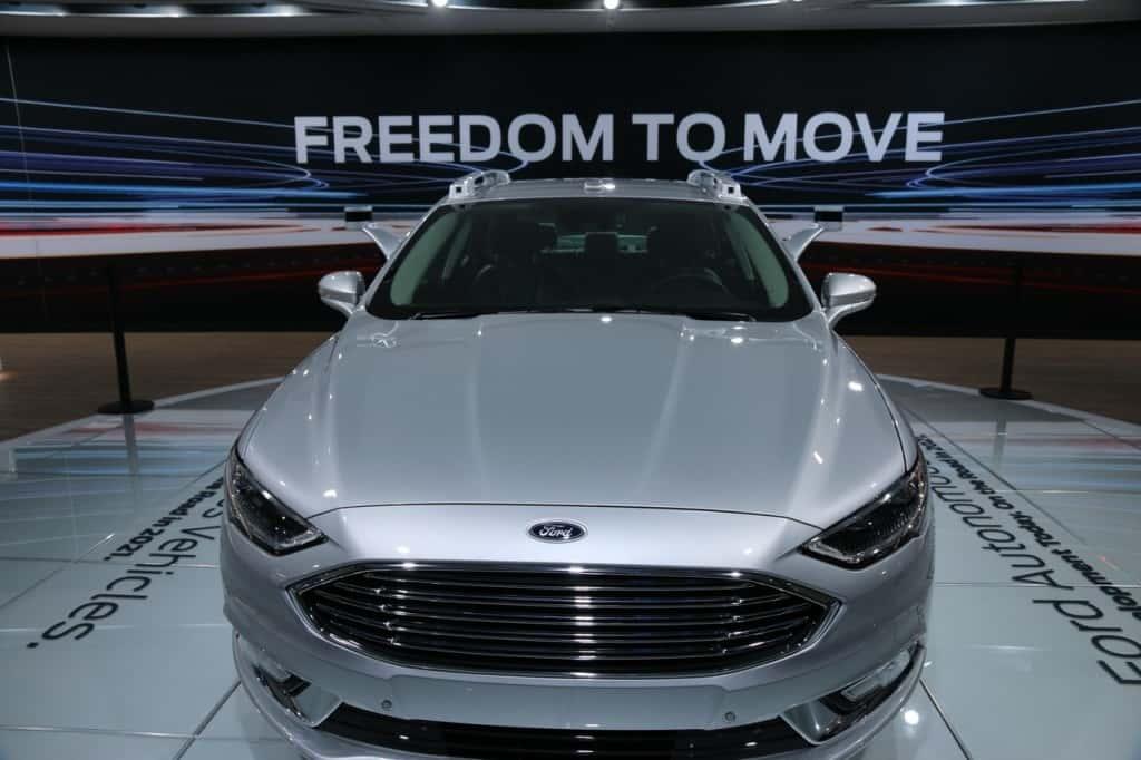 Ford's autonomous vehicle