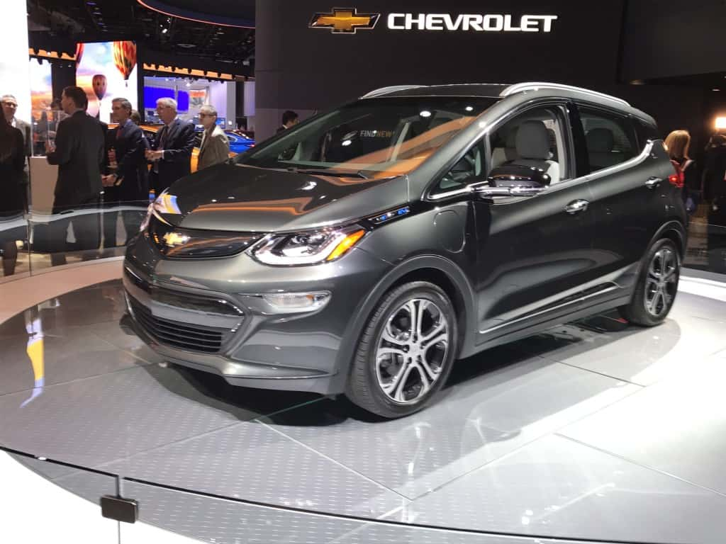 The Chevy Bolt was the 2017 car of the year