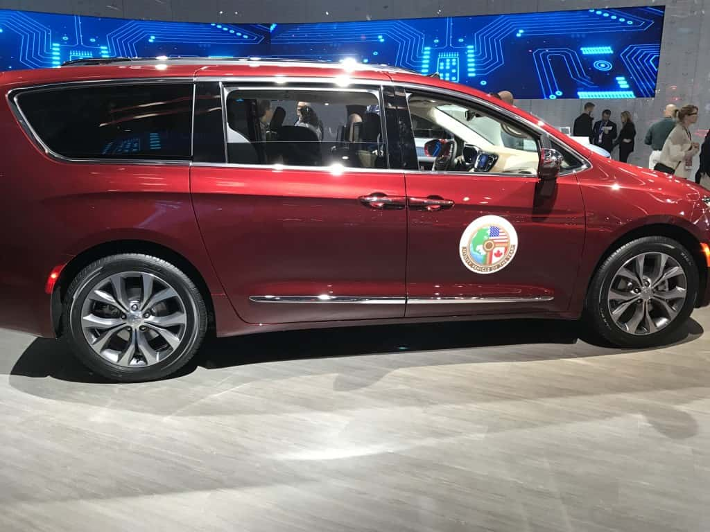 The Chrysler Pacifica is the 2017 Utility Car of the Year