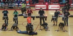Sandusky's Drum Line