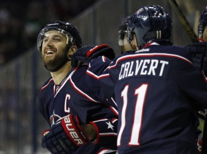Nick Foligno, Matt Calvert