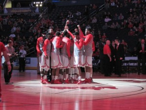 OSU Team Huddle 12-17-14