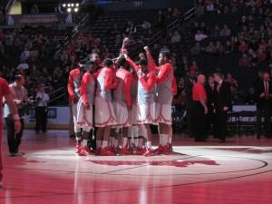 OSU Team Huddle 12-17-14