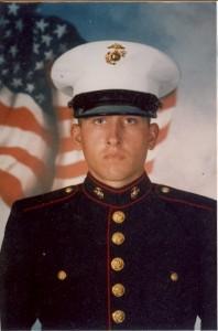 Reed, LCpl Aaron - in uniform