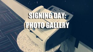 Signing Day Photo Gallery