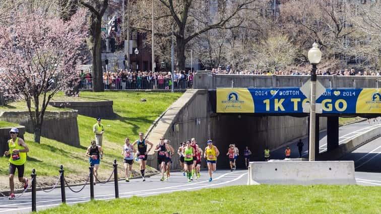 This time around, Kathrine Switzer enjoys 'race of celebration'