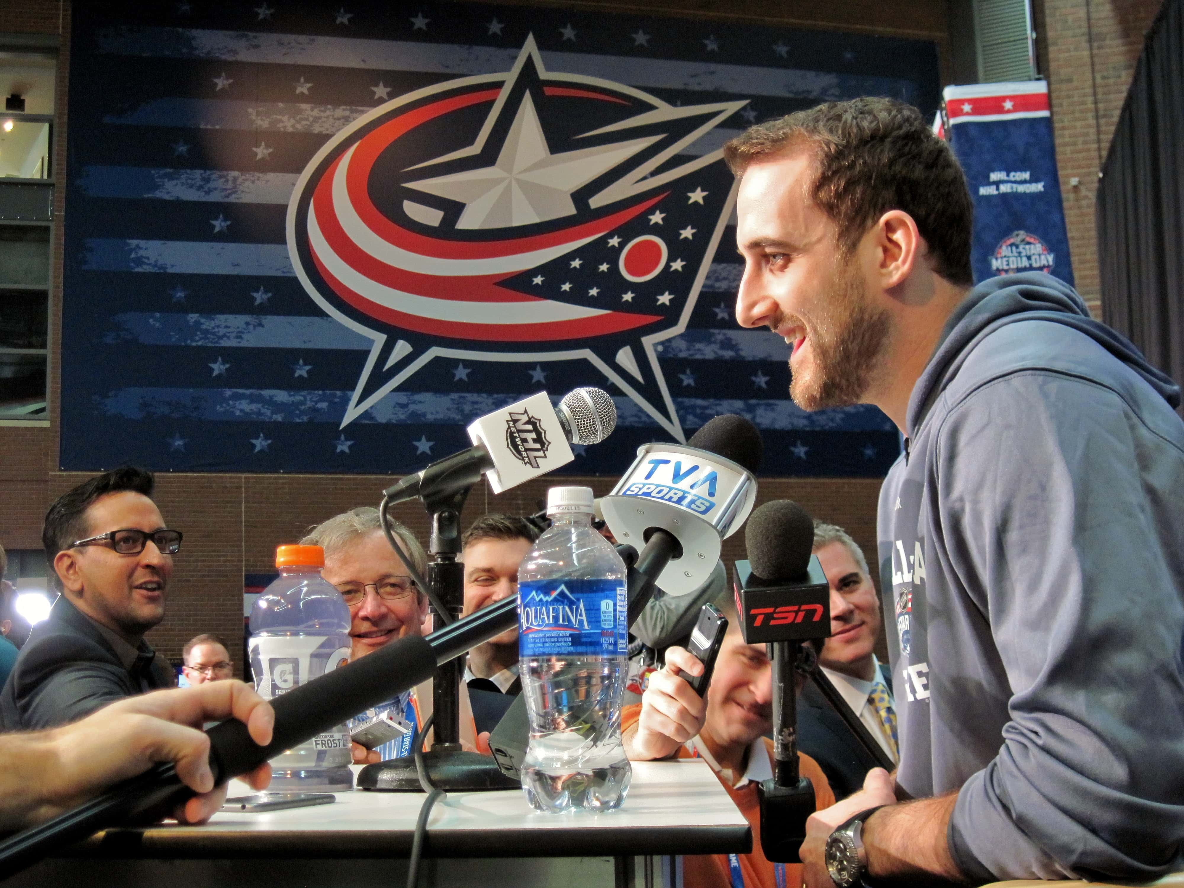 Blue Jackets captain Nick Foligno sweeps National Hockey League leadership awards