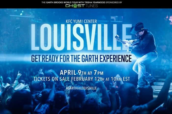 GARTH IN LOUISVILLE