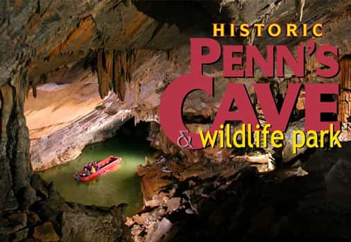 Penn's-cave-flipper-bob