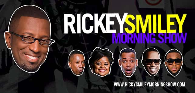 Tune In To The Rickey Smiley Morning Show