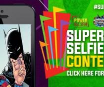 Superhero selfie contest flipper