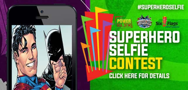 #Superhero Selfie Contest