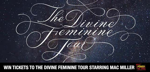 Win Mac Miller DIVINE FEMININE TOUR Tickets!