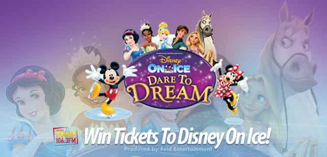 Win Tickets To Disney On Ice!