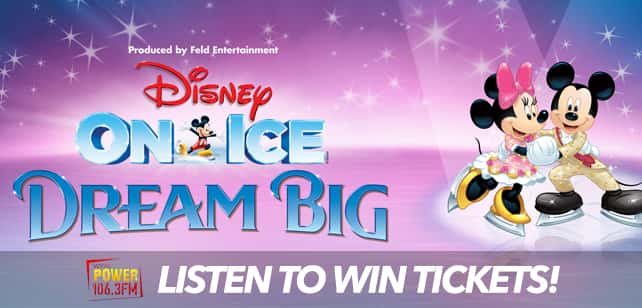 Win Tickets to Disney On Ice Dream Big!