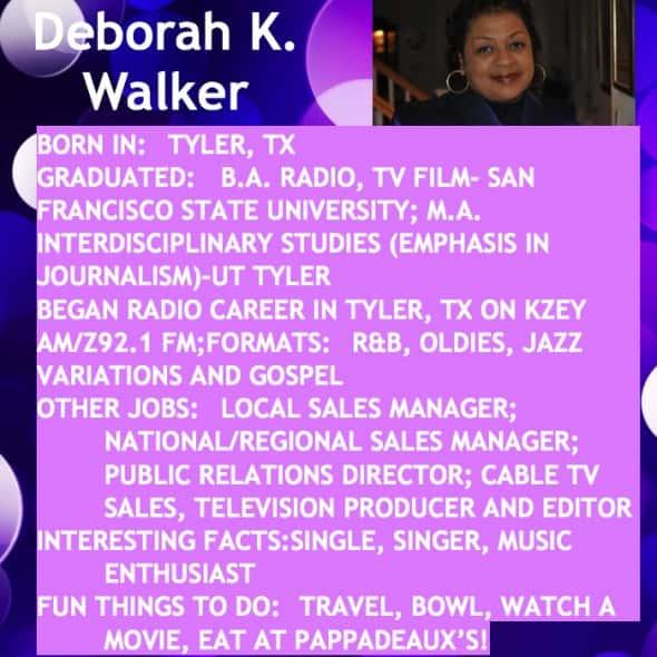 Deborah Bio