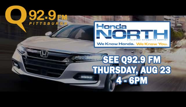 Win JT Tickets At Honda North With Q929
