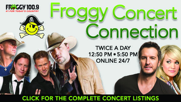 FROGGY CONCERT CONNECTION REVISED 160525