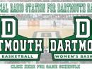 Dartmouth Basketball Banner