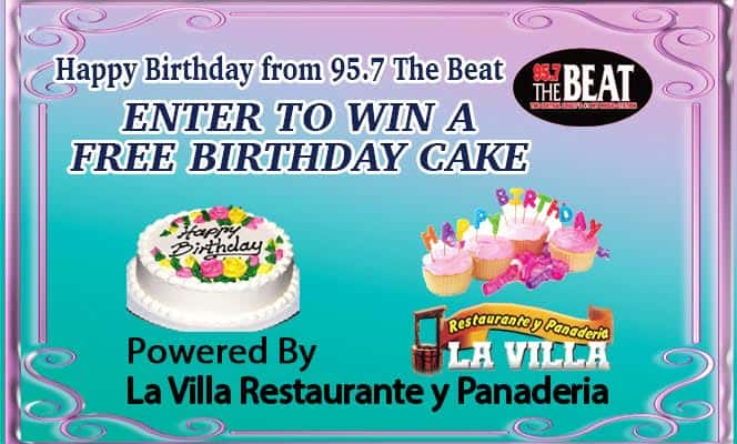 Enter now to win your free birthday cake kpat for Enter now to win