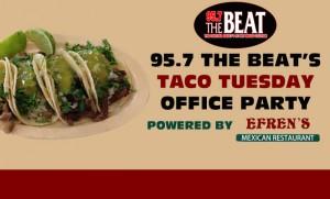 beats taco tuesday office party