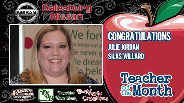 2016-5 Teacher of Month - Julie Jordan