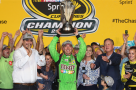 Kyle Busch is the 2015 NASCAR Sprint Cup Series Champion (photo from Getty Images/mrn.com)