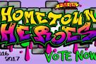 2016-17 Hometown Heroes Flipper Vote Now