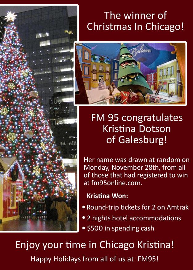 2016 Christmas in Chicago Winner - Kristina Dotson
