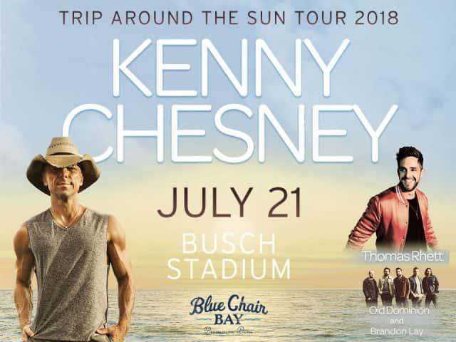 Kenny chesney and thomas rhett at busch stadium fm 95 waag kenny chesney and thomas rhett at busch stadium m4hsunfo