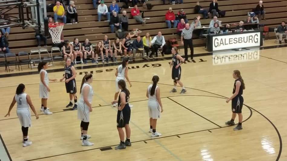 GHS girls vs Quincy ND 01-18-2016