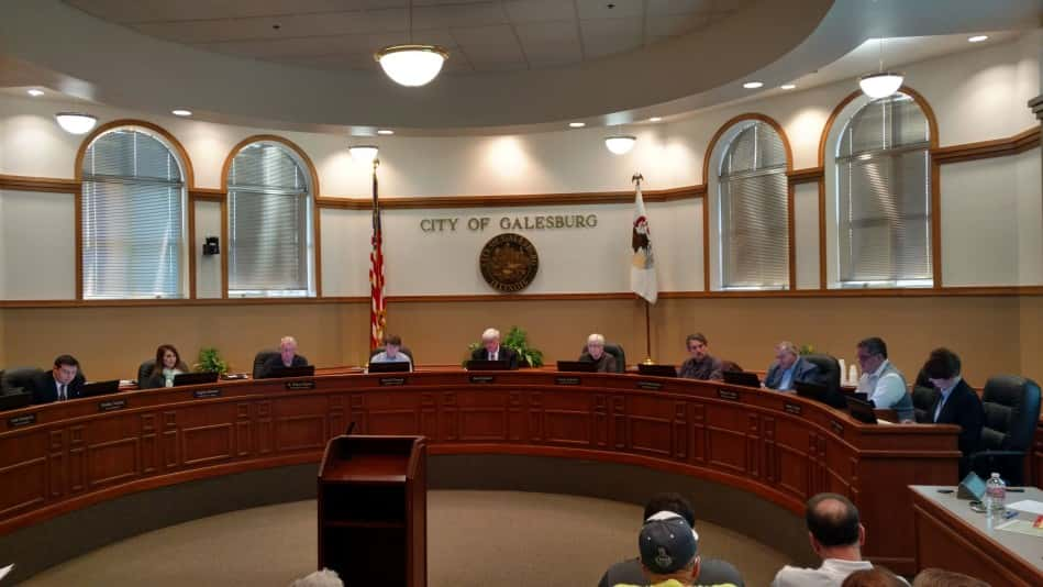 Galesburg City Council 2016