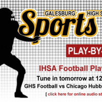 102916 GHSSportsFootballFlipper IHSA Playoffs Ch Hubbard Tomorrow