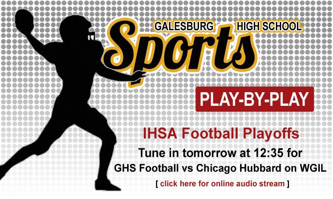 102916 GHSSportsFootballFlipper IHSA Playoffs Ch Hubbard Tomorrow
