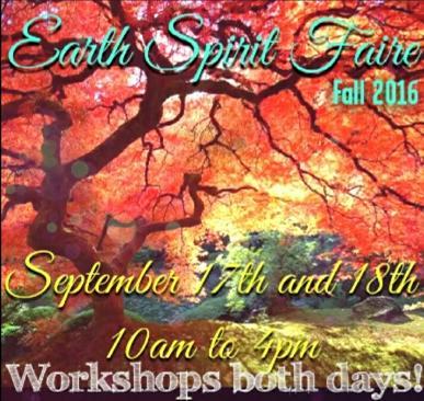 Earth Spirit Faire 2016