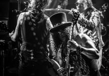 Duff, Slash, & Axl