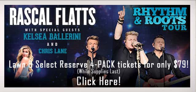 Rascal Flatts 2016 Flipper