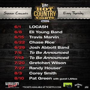 Kansas City Pnl Hot Country Nights