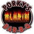 Porky's Blazin BBQ Logo115