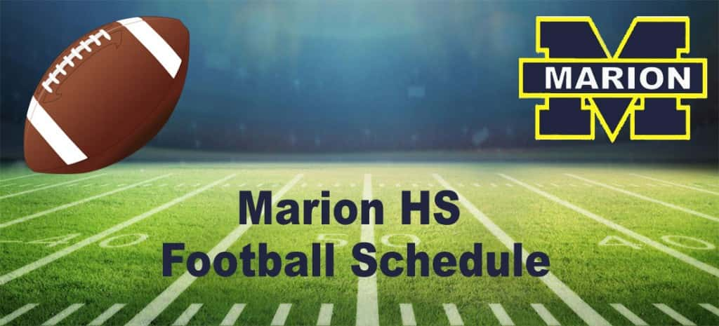 Marion HS Football Schedule