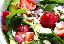 Kale-Strawberry Salad