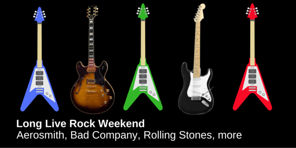 Long Live Rock Weekend